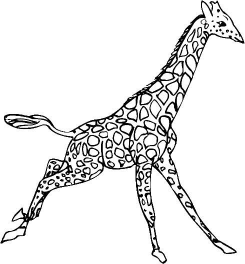 Coloriage Girafe Mandala.Index Of Coloriages Animaux Girafe