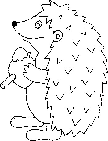 Coloriage Herissons.Index Of Coloriages Animaux Herisson