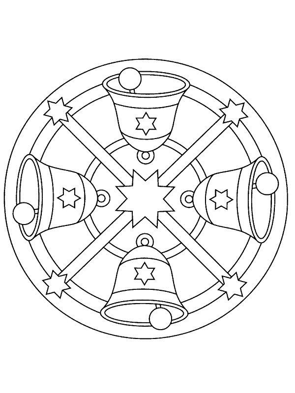 Coloriage Mandala Noel.Index Of Coloriages Apprentissage Mandala Noel