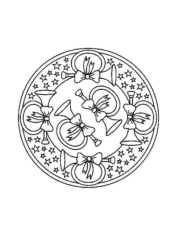 Index Of Coloriages Apprentissage Mandala Noel