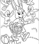 coloriage paques 076
