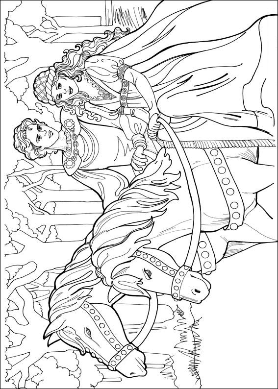 Index Of Coloriages Fantastique Princesse Princesse Leonora