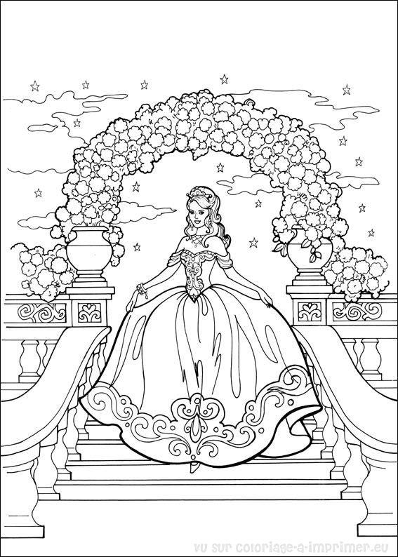 Coloriage A Imprimer Coloriage Princesse Leonora 007