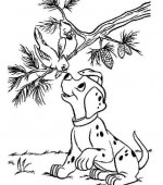 coloriage 101 Dalmatiers 007