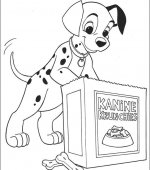 coloriage 101 Dalmatiers 008
