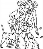 coloriage 101 Dalmatiers 013