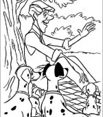 coloriage 101 Dalmatiers 037