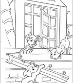 coloriage 102 Dalmatiers 020
