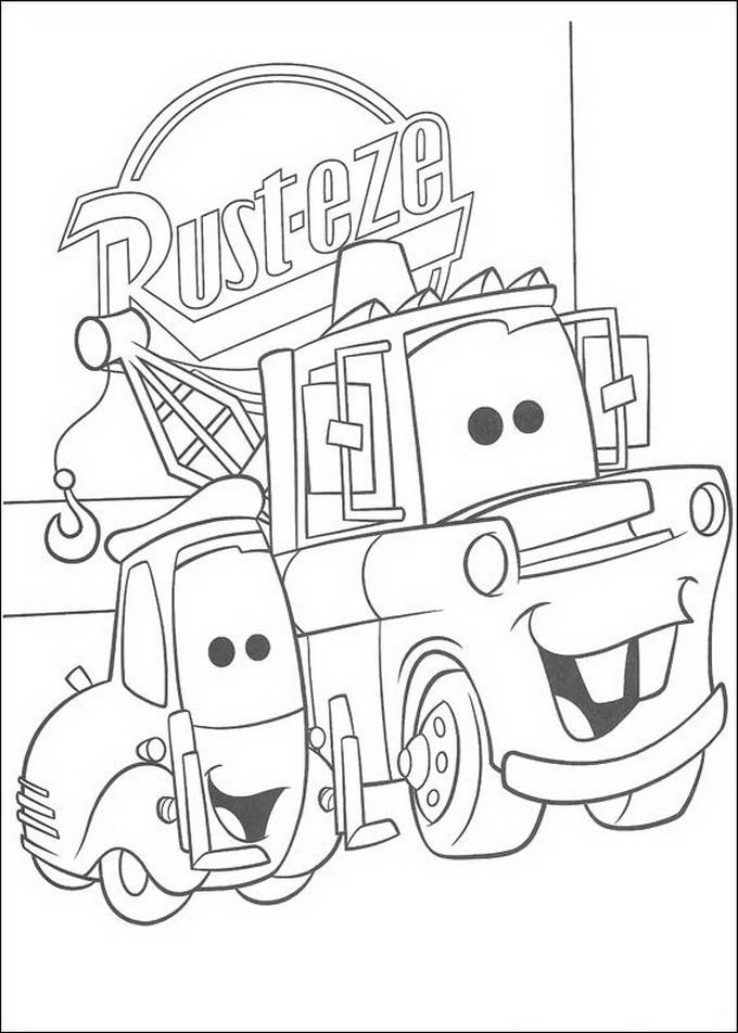 Increíble Coloriage Cars 2 Página 06 Cresta - Ideas Para Colorear ...