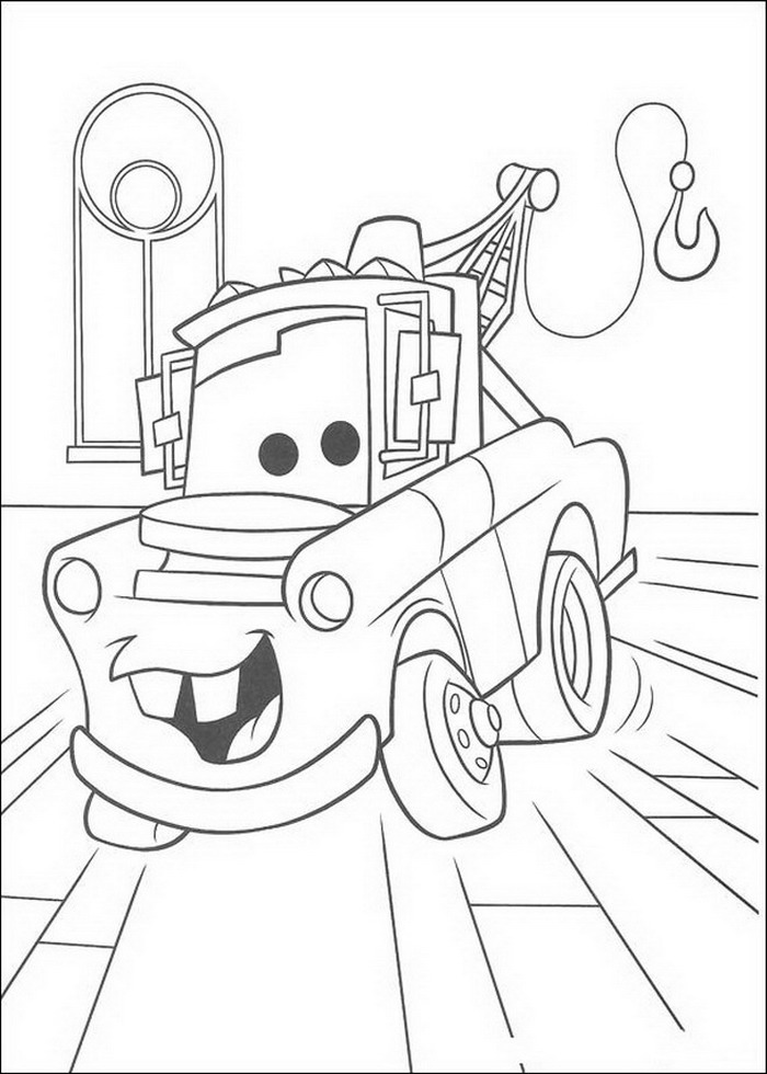 Coloriage Cars Image.Index Of Coloriages Films Cars Quatre Roues Pixar