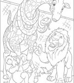 coloriage The Wild 005