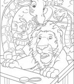 coloriage The Wild 007