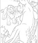 coloriage The Wild 013