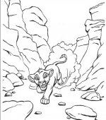 coloriage le rois lion 003