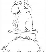 coloriage ratatouille 006
