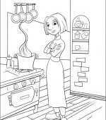 coloriage ratatouille 010