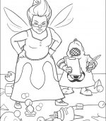 coloriage shrek 007