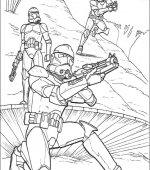 Coloriage Star Wars Gratuit A Imprimer