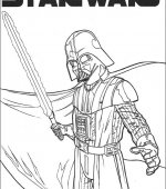 coloriage star wars 011