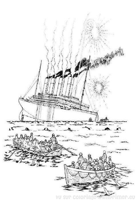 Coloriage A Imprimer Coloriage Titanic 027