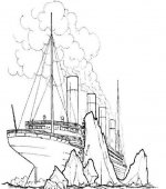 Coloriage Titanic Gratuit A Imprimer