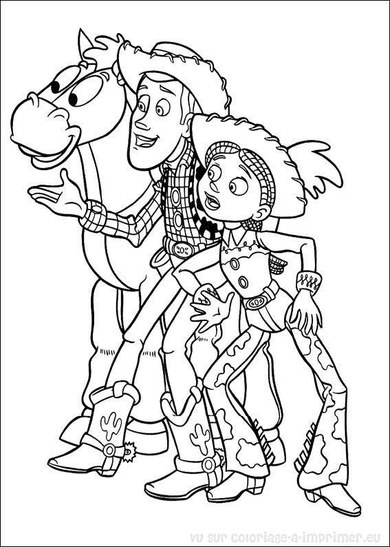 Coloriage imprimer coloriage toy story 004 - Coloriage pixar ...
