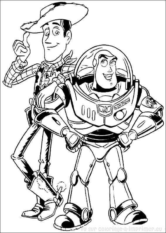 Coloriage imprimer coloriage toy story 010 - Coloriage toy story 3 ...