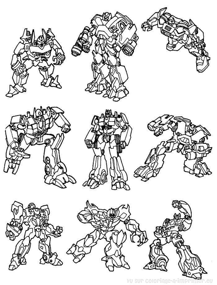 Coloriage A Imprimer Coloriage Transformers 018