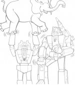 coloriage transformers 000