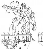 coloriage transformers 012