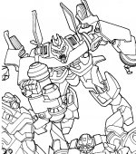 coloriage transformers 015