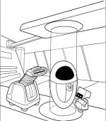 coloriage wall-e 003
