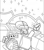 coloriage wall-e 004