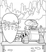 coloriage wall-e 012