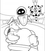 coloriage wall-e 013