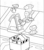 coloriage wall-e 014