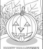 coloriage halloween 012