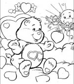 coloriage Bisounours 001