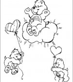 coloriage Bisounours 002
