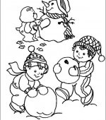 coloriage Bisounours 003