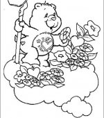coloriage Bisounours 005