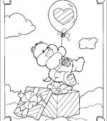coloriage Bisounours 009