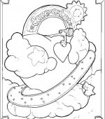 coloriage Bisounours 013