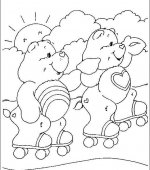 coloriage Bisounours 014