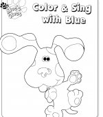 coloriage Blues Clue 002