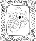 coloriage Blues Clue 005
