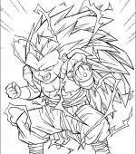Coloriage Dragon Ball Z Gratuit A Imprimer