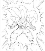 coloriage Dragon Ball Z 036
