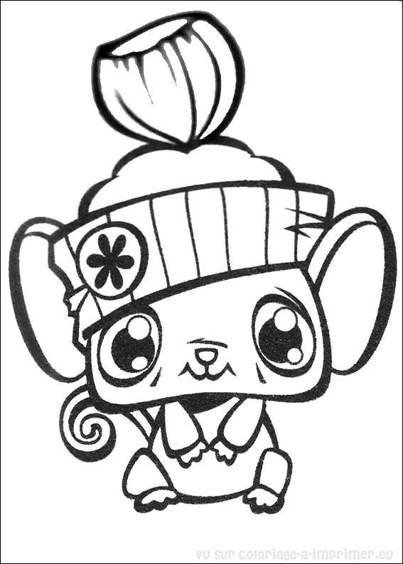 Coloriage à Imprimer Coloriage Littlest Pet Shop 002