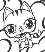 Coloriage littlest pet shop gratuit a imprimer - Petshop gratuit ...